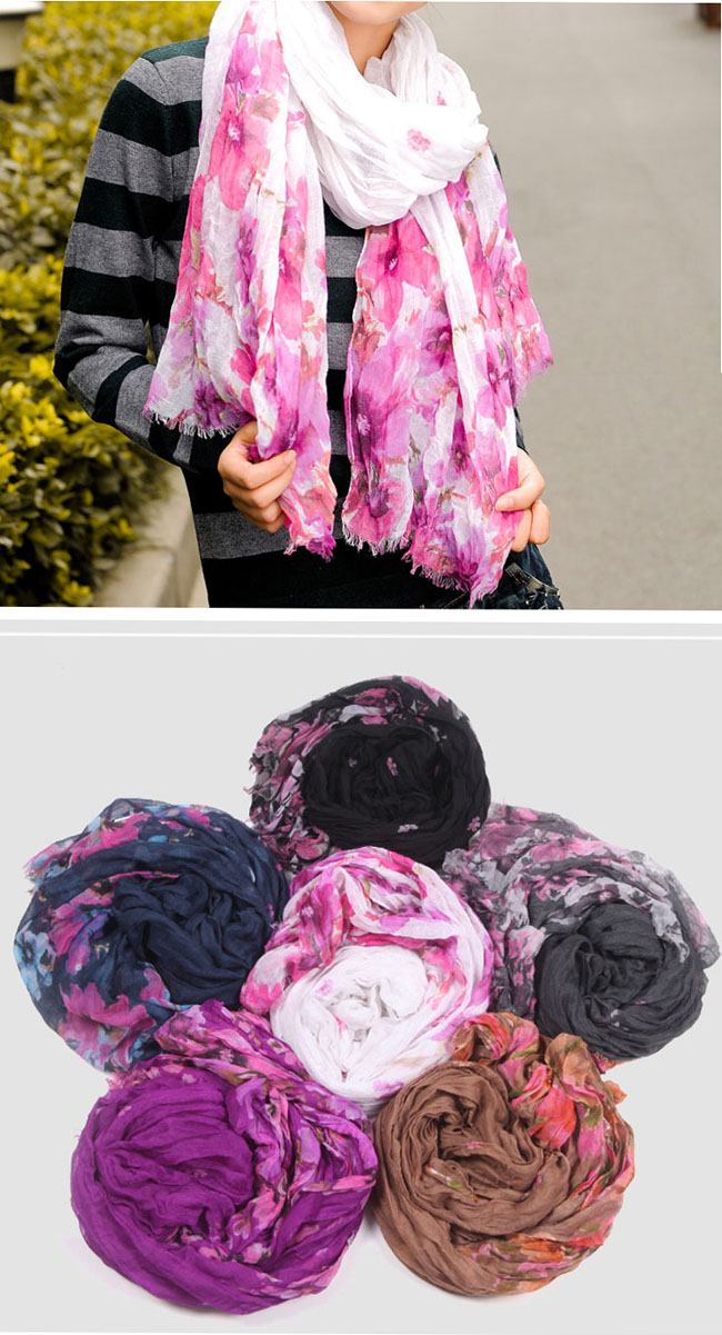 China voile scarves
