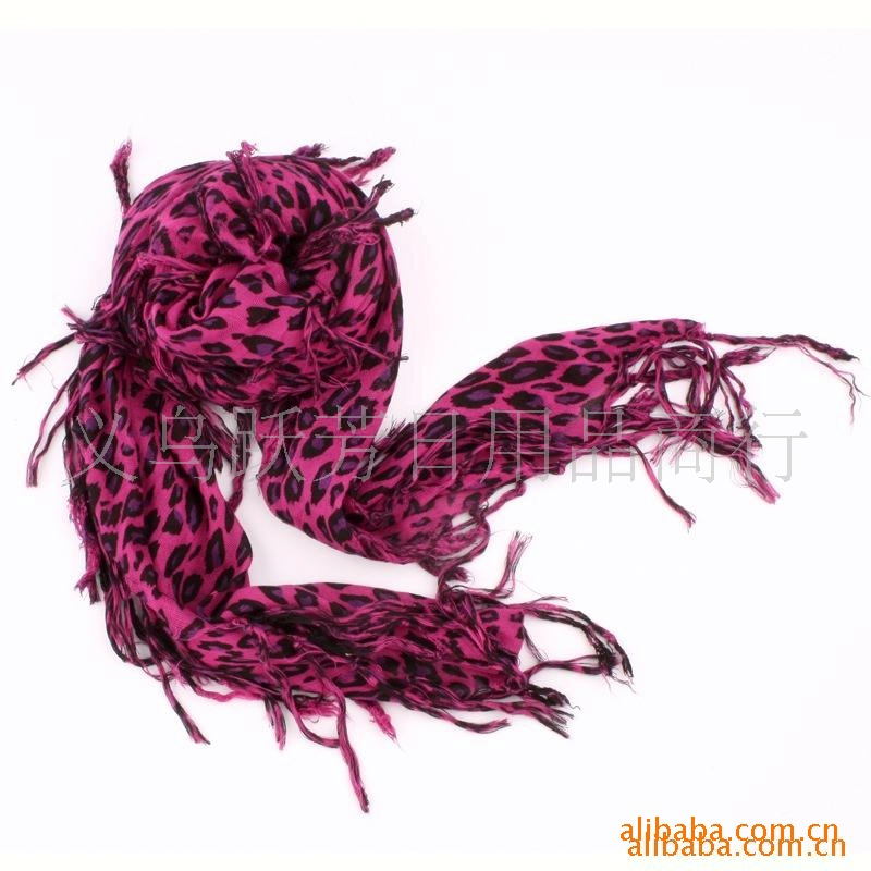 Wholesale Leopard Cotton Scarf