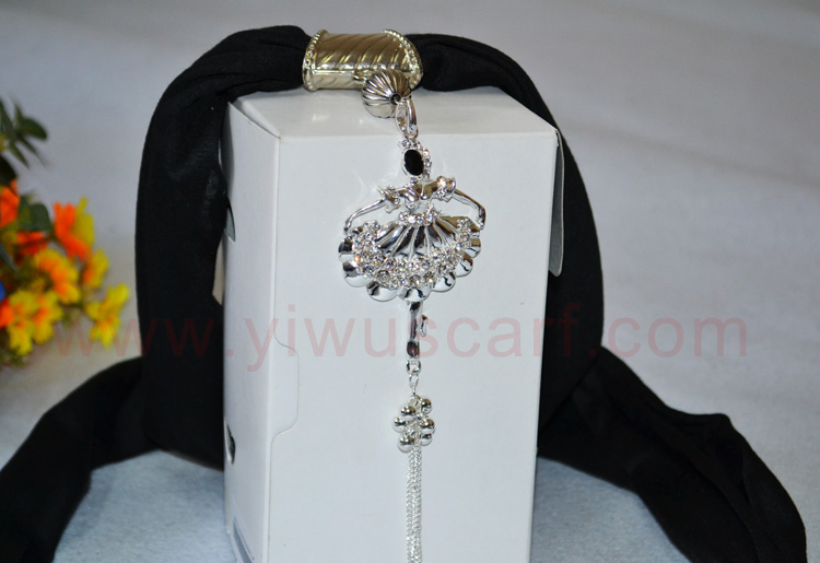 pendant jeweled scarves