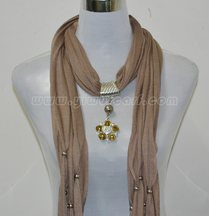 Diamond jewelry scarves