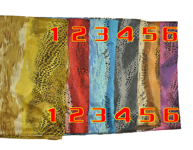 Thai silk scarves