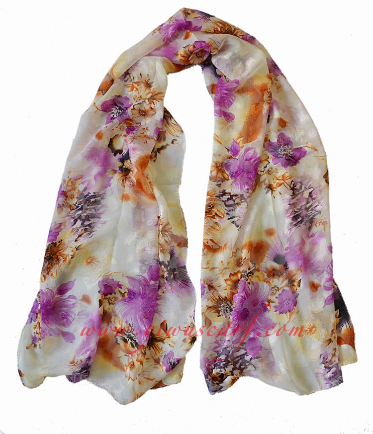 Silk chiffon scarf wholesale china Scarf Chiffon Scarves Wholesale