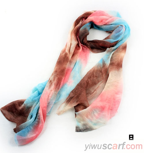 India color scarf