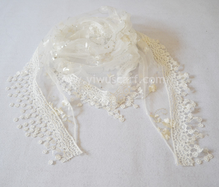 Lace scarves for women