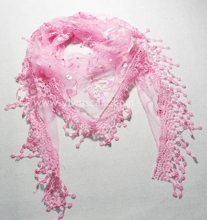 China supply Lace scarves