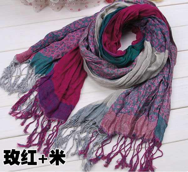 colorful scarf