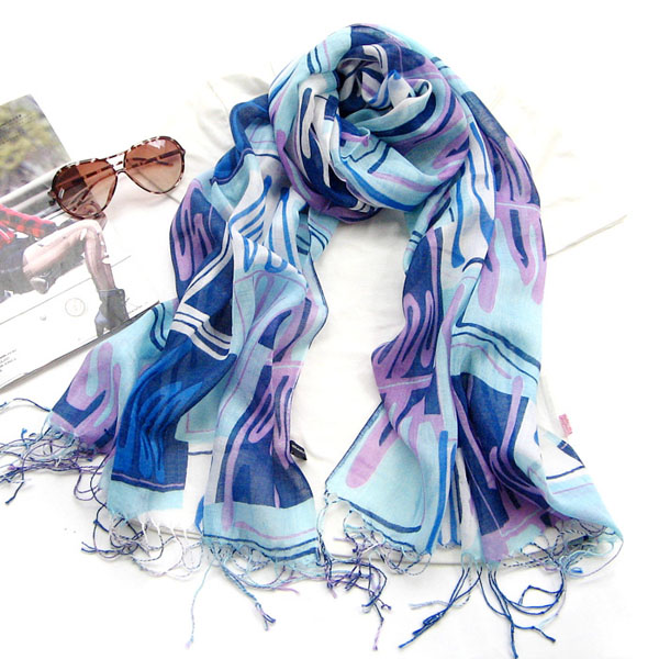 Wholesale gold wool scarf shawl