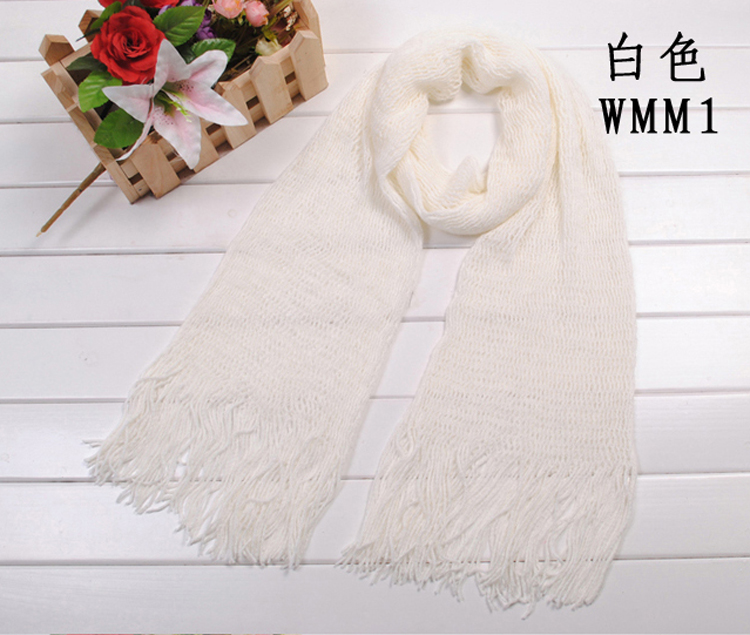 Hollow out wool scarf, winter new scarf