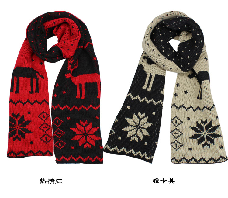 Lovers of wool scarf Indear winter scarf