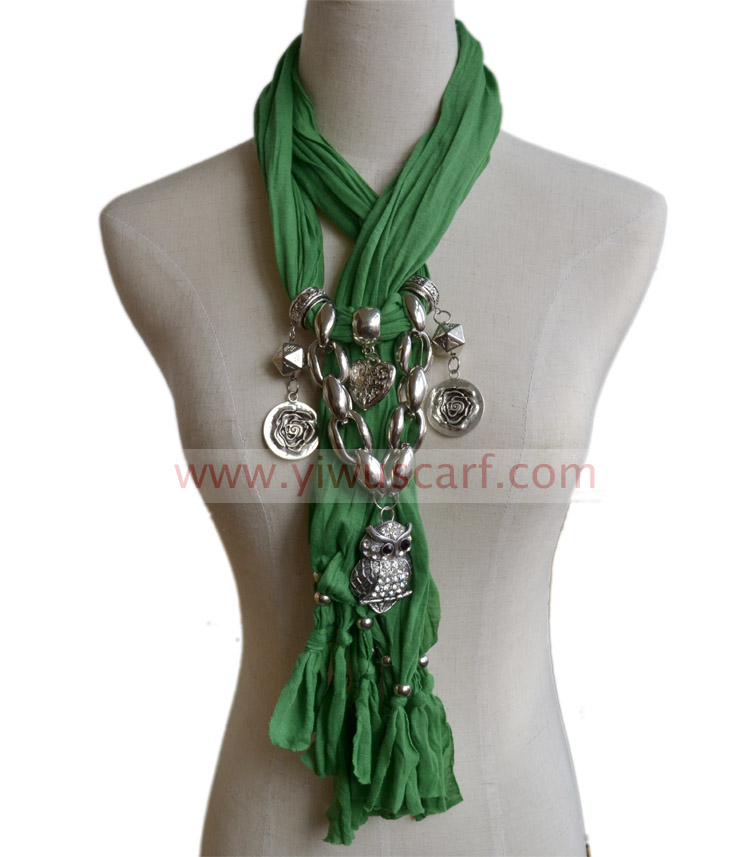 Wholesale Scarves with Jewelry