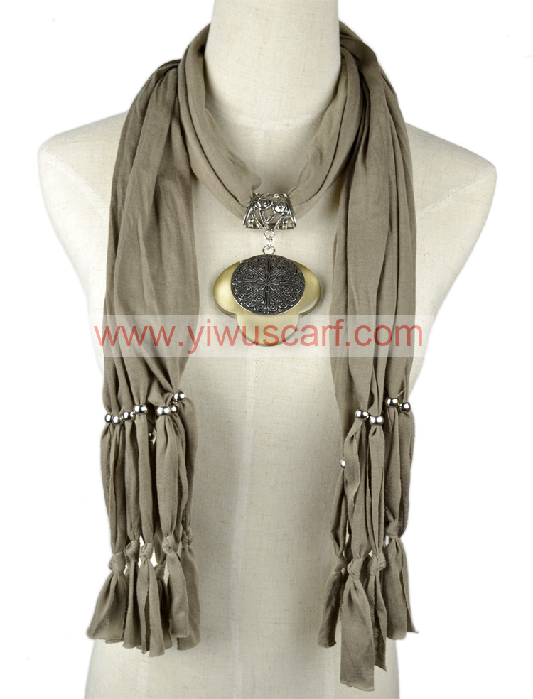Charm Necklace Scarves
