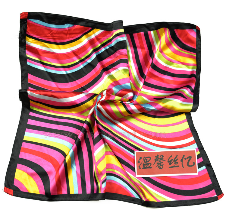 Silk head scarf wholesale