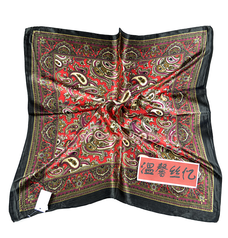 twill silk scarf wholesale