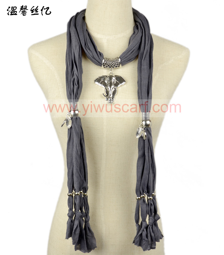 metal scarf pendants