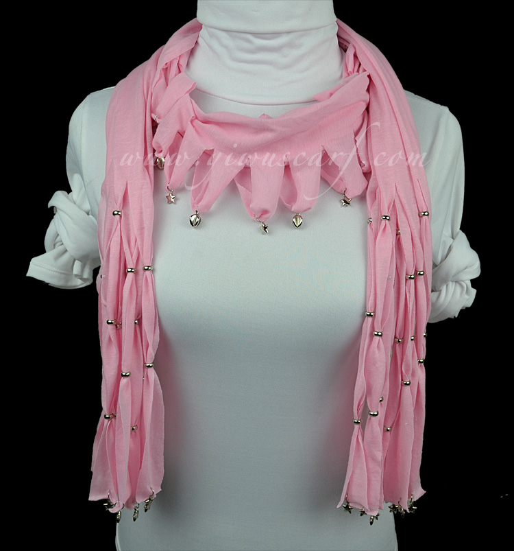 Fashion jewelry scarves