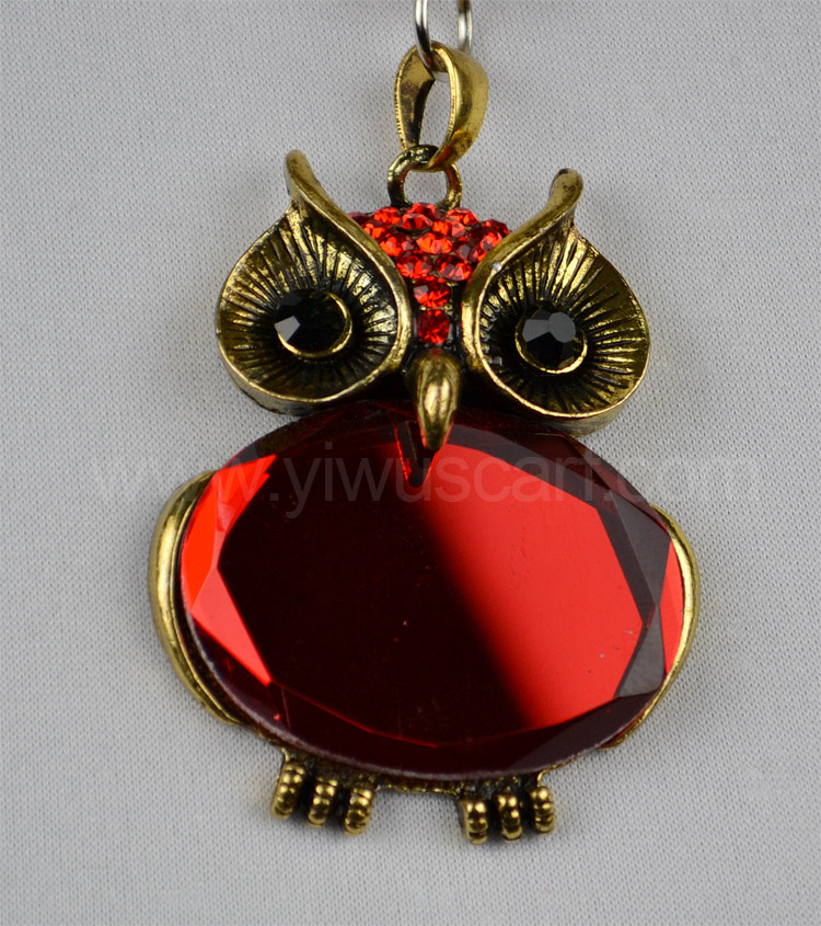 China wholesale owl pendant necklace scarf