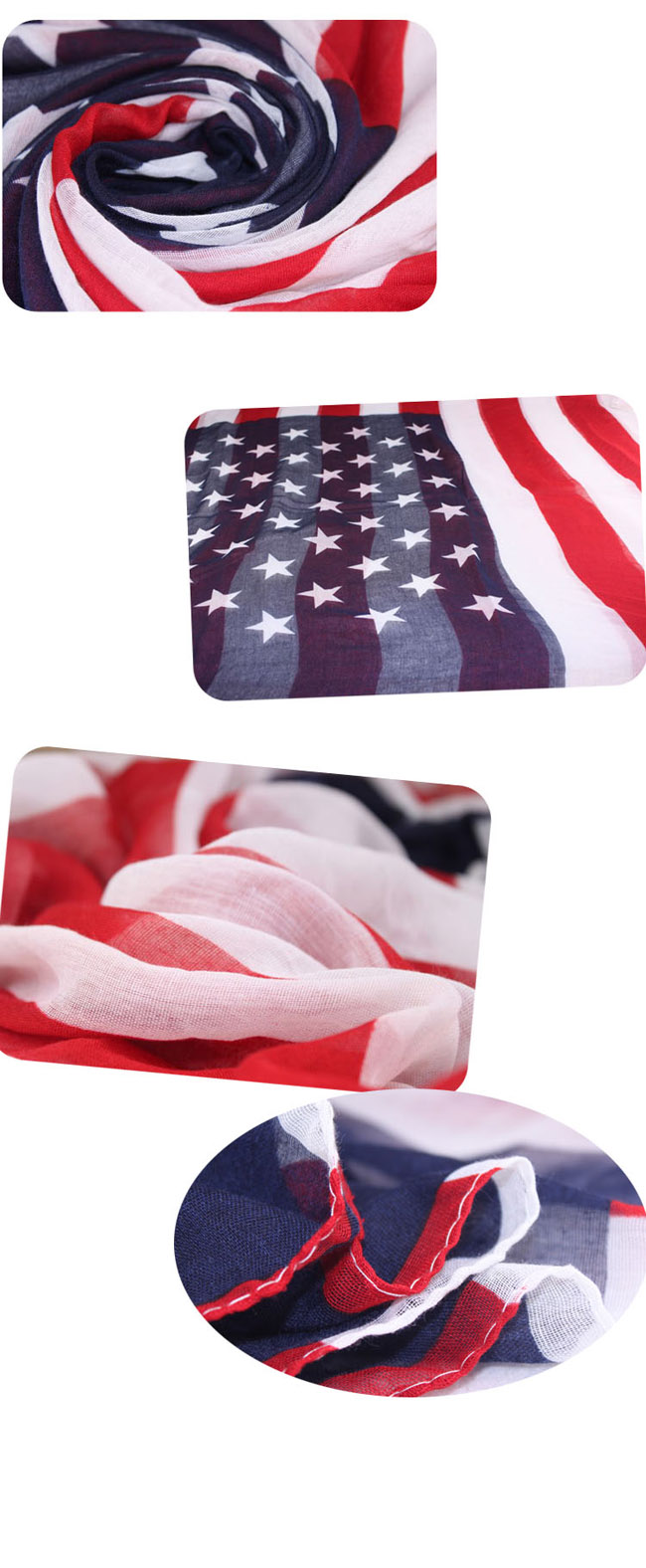 new style of USA flag