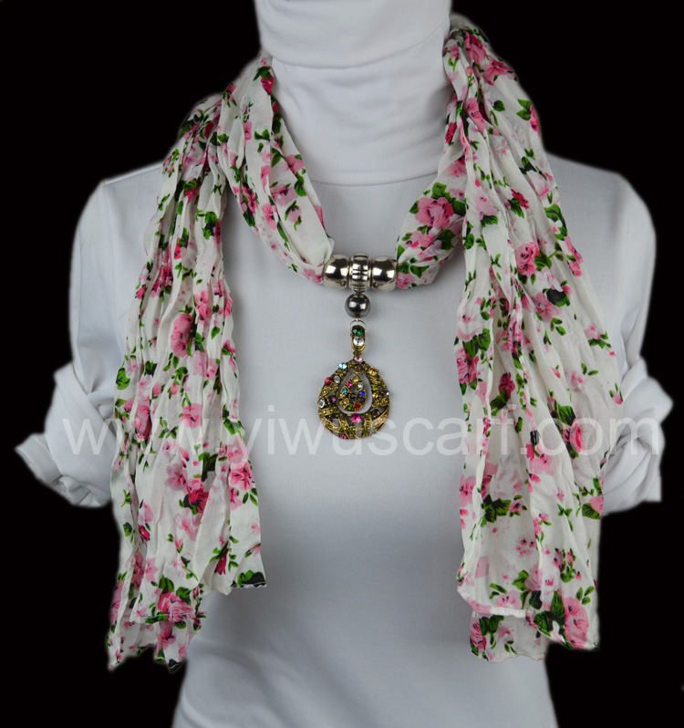 Retro fashion pendant scarf china Scarf Fashion Scarf With Pendant