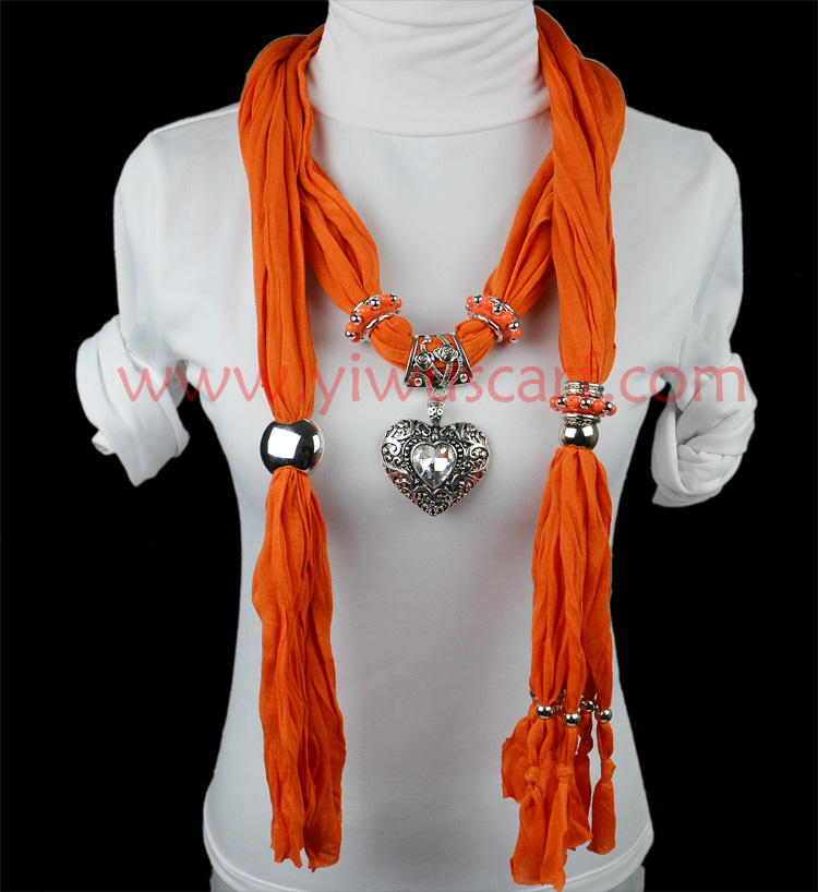 pendant scarf necklace jewelry Scarf Jewelry Necklace