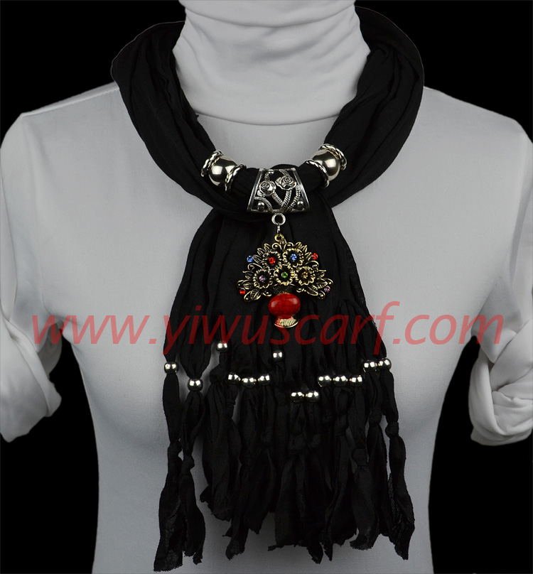 Spring and Autumn flower baskets jewelry scarves