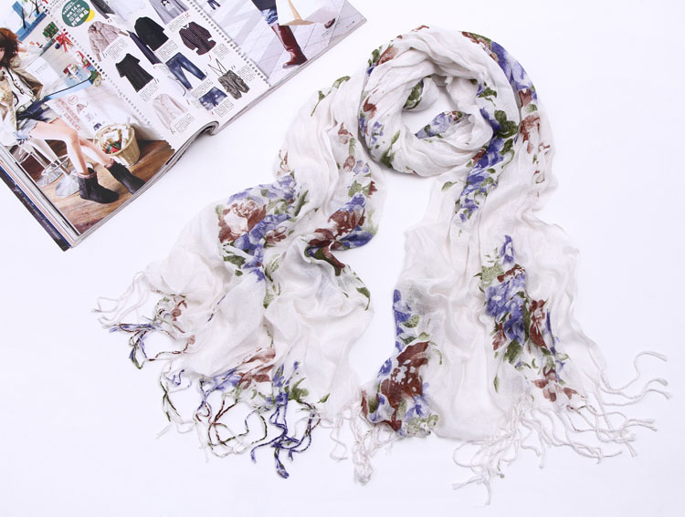 South Africa, cotton scarves, linen shawls