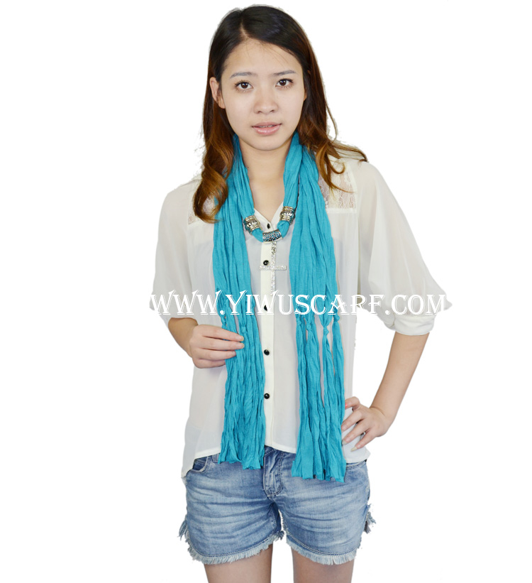Crystal pendant scarf Wholesale alloy cross