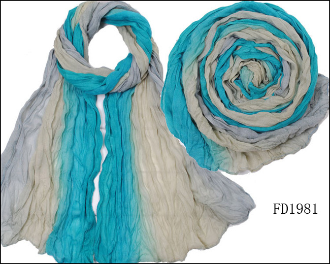 color full scarf