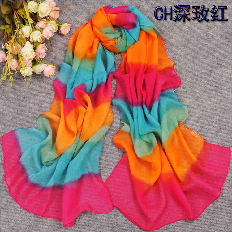 color scarf
