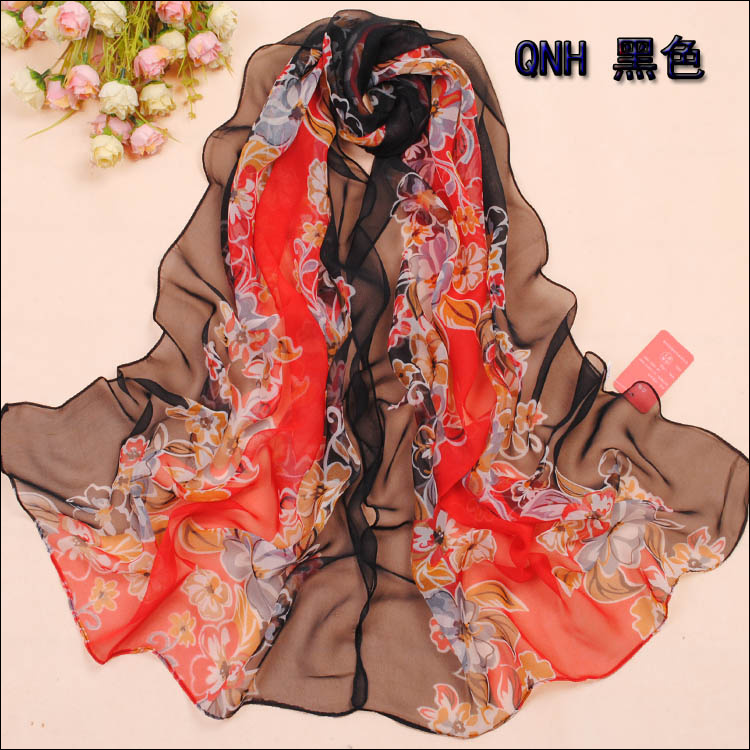 two print of scarf