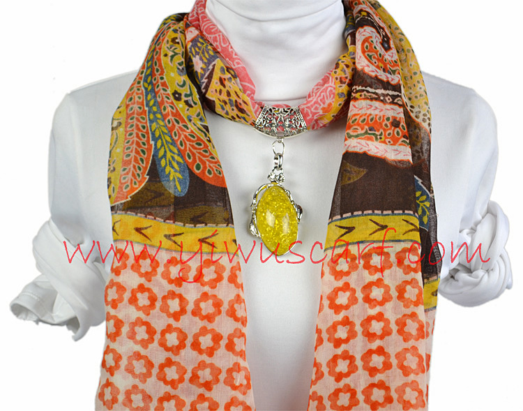 scarves with jewellery uk