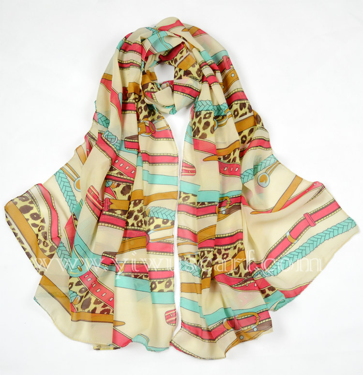 China chiffon scarf wholesale