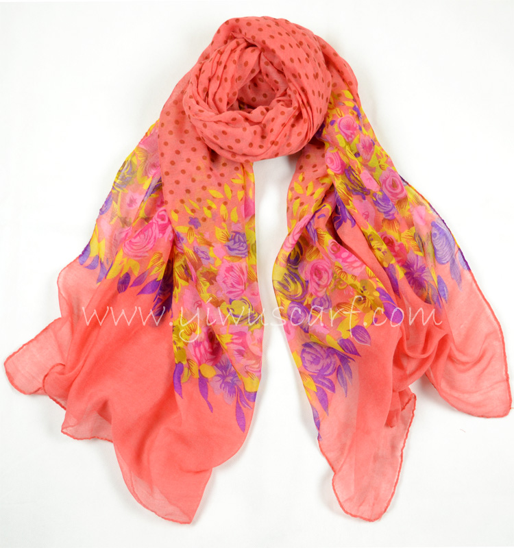 polyester scarves wholesale