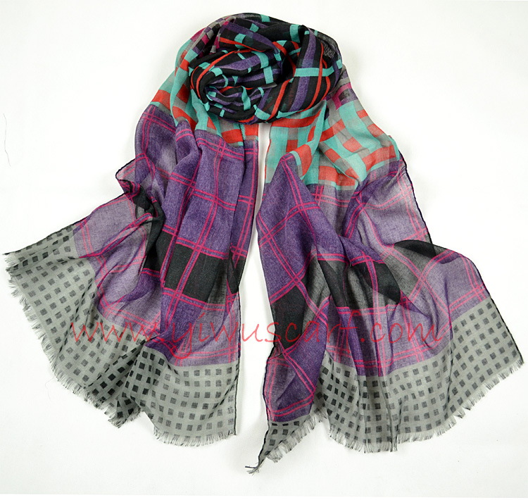polyester scarves women