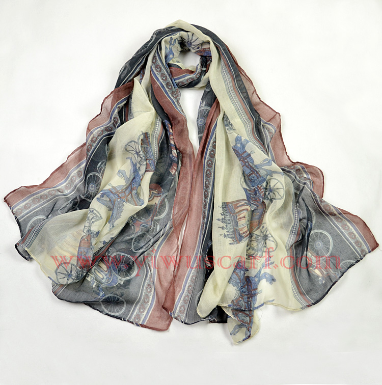 wholesale cotton voile scarf