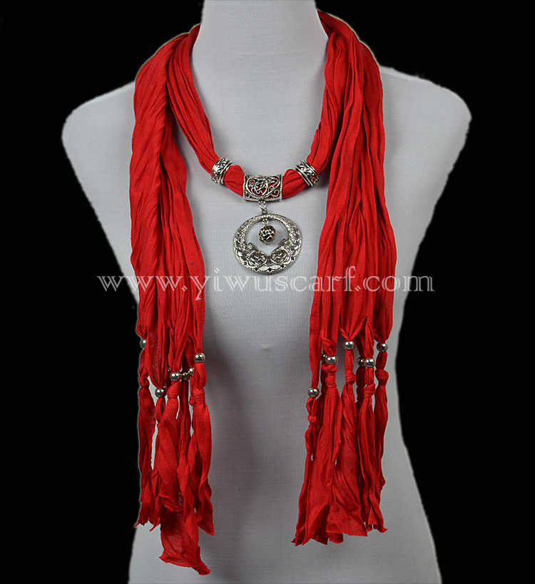 pendant scarf wholesale jewelry scarf