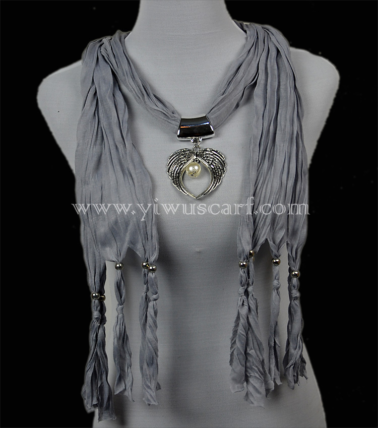 fashion scarf ladies pendant scarves