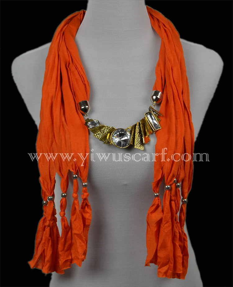 gold pendant necklace jewelry scarves