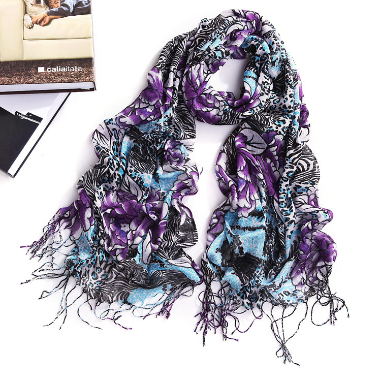Retro classic cotton scarf, Arab headscarf