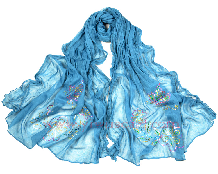 Hot fix rhinestone scarves online wholesale