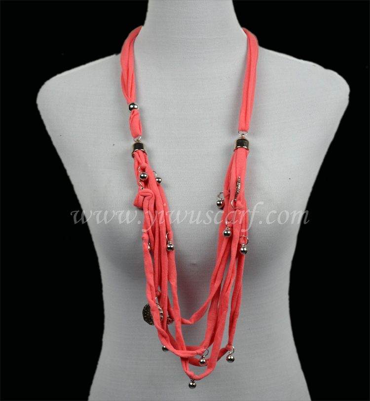 wholesale fashion jewelry scarf necklace Scarf Jewelry Necklace