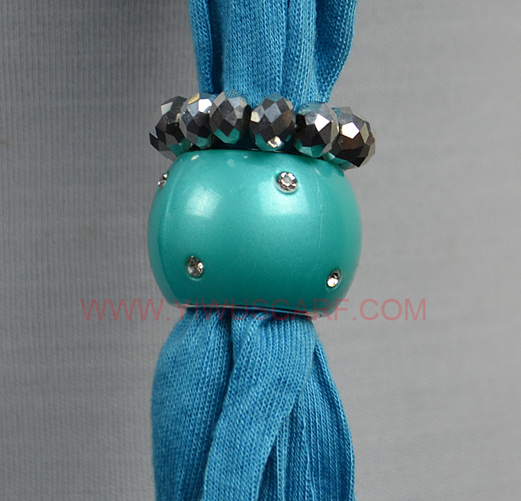 Wholesale Alloy Beads Pendant Scarf