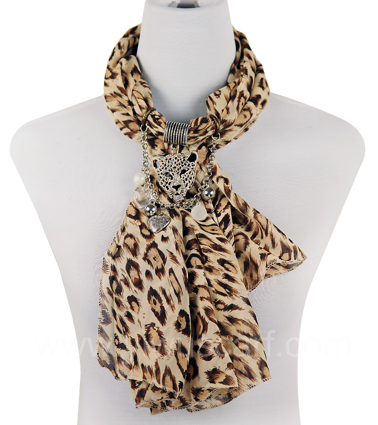 Wholesale Scarf Necklace Jewelry Pendants Scarf Jewelry Necklace