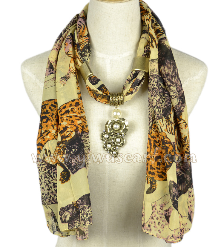 Leopard pattern jewelry scarves wholesale china Scarf Scarves With Jewelry Patterns