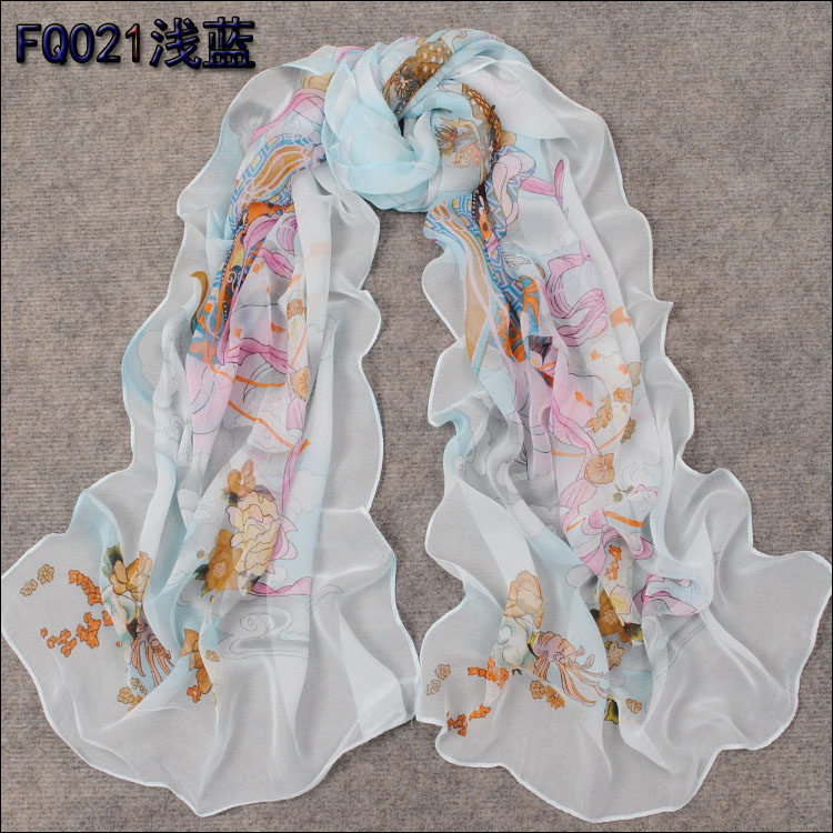 selling silk scarf china scarf