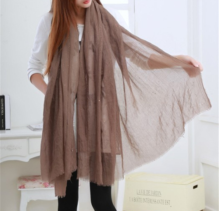 solid color silk scarves china scarf