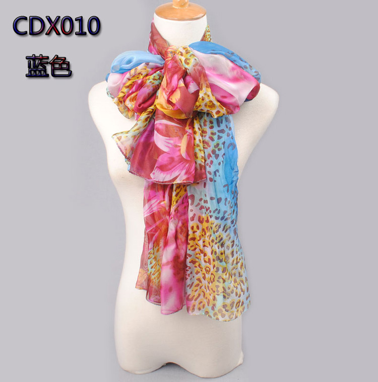 Chiffon scarves for women