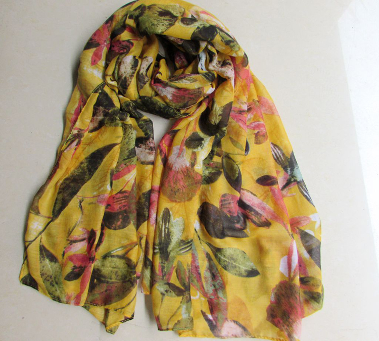Embroidered scarves wholesale