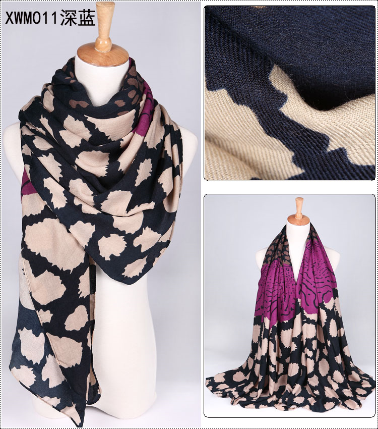Cotton printed scarf wholesale