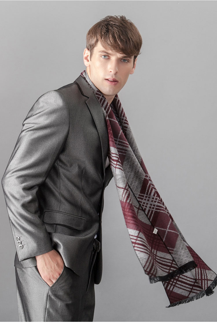 Woolen scarves for men