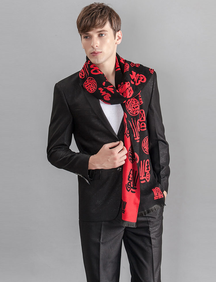 Long men scarves wholesale